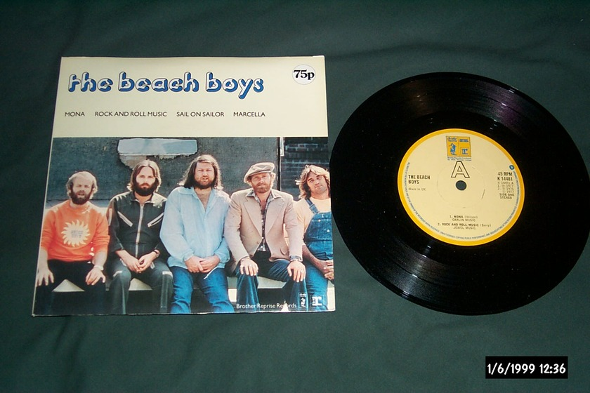 The Beach Boys  - The Beach Boys Brother Records UK EP NM Mona 45 EP NM