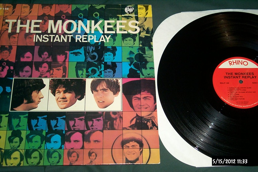 The Monkees - Instant Replay LP NM Rhino Label