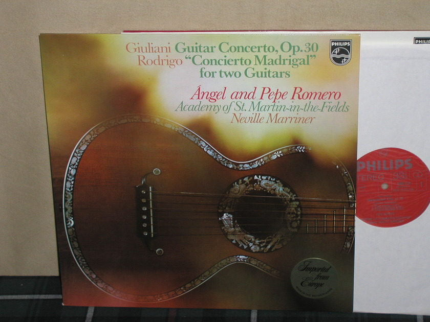 Angel&Pepe Romero - Giuliani/Rodrigo Philips Import LP 6500
