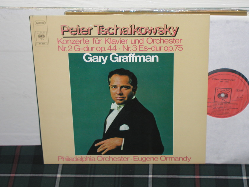 Gary Graffman - Tchaikovsky Cto for Piano and Orchestra 2/3 GERMAN import LP