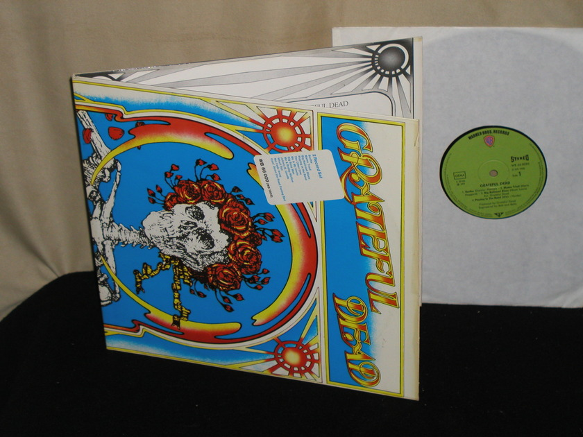 The Grateful Dead - The Grateful Dead  2LP set  German Import w/Green labels WB 66 0095 (TELDEC pressing)