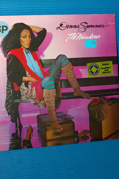 "DONNA SUMMER   - ""The Wanderer"" - WEA German Pressing 1980 SEALED!"
