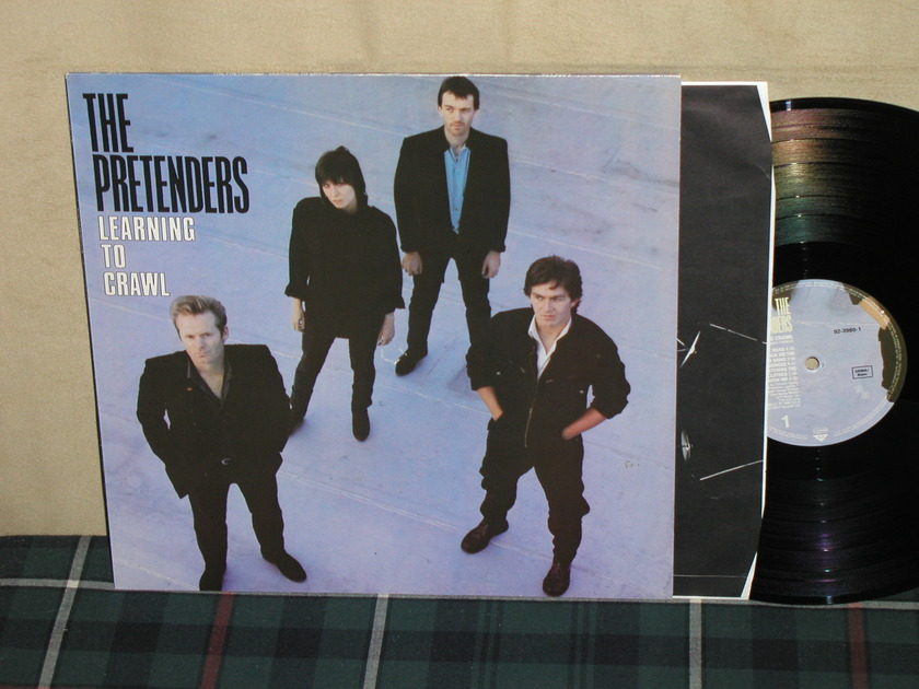 The Pretenders - Learning To Crawl GERMAN Import WB WX-2