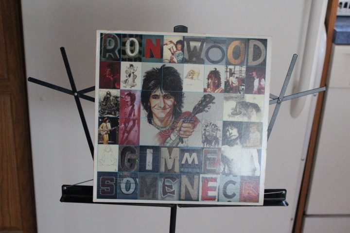 RON WOOD - GIMME SOMETHING