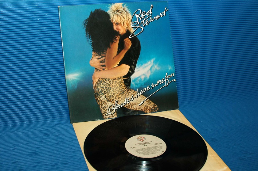 "ROD STEWART  - ""Blondes Have More Fun"" -  Warner Bros. 1978"