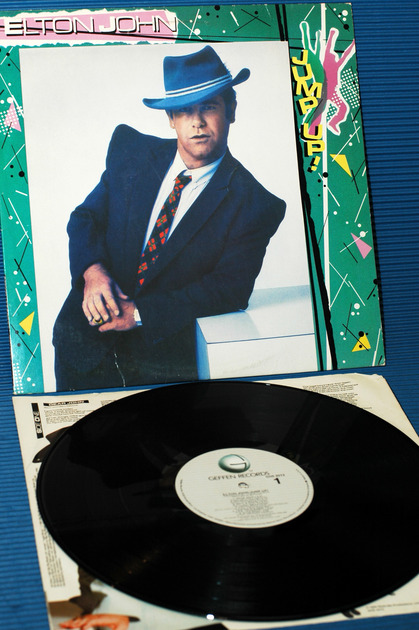 "ELTON JOHN  - ""Jump Up"" -  Geffen Records - 1982"