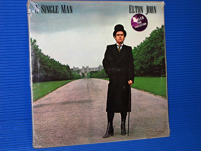"ELTON JOHN  - ""A Single Man"" -  MCA 1978 SEALED"