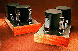 Consonance M-400 mono blocks  22wpc triode40 wpc ultralinear