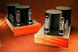 Consonance M-400 mono blocks  22wpc triode40 wpc ultralinear