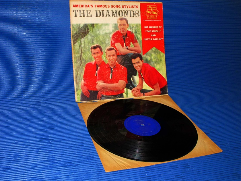 "THE DIAMONDS   - ""Americas Famous Song Stylists"" -  Mercury Wing 1959"