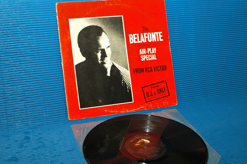 "HARRY BELAFONTE   - ""Air-Play Special For DJ's Only"" -  RCA 'Black Dog' 1964 Promo"