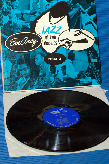 "JAZZ OF TWO DECADES  - ""Dem-2"" -  Emarcy 1956 Mono"