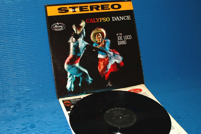 "JOE LOCO BAND   - ""Calypso Dance"" -  Mercury 1958 1st pressing Stereo"