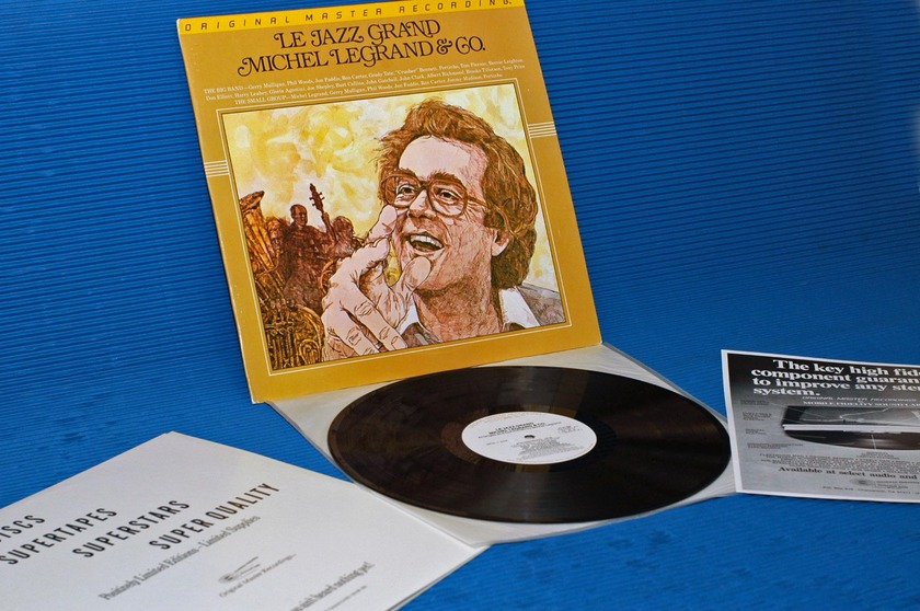 "MICHEL LEGRAND & CO.   - ""Le Jazz Grand"" -  Mobile Fidelity/MFSL 1984"