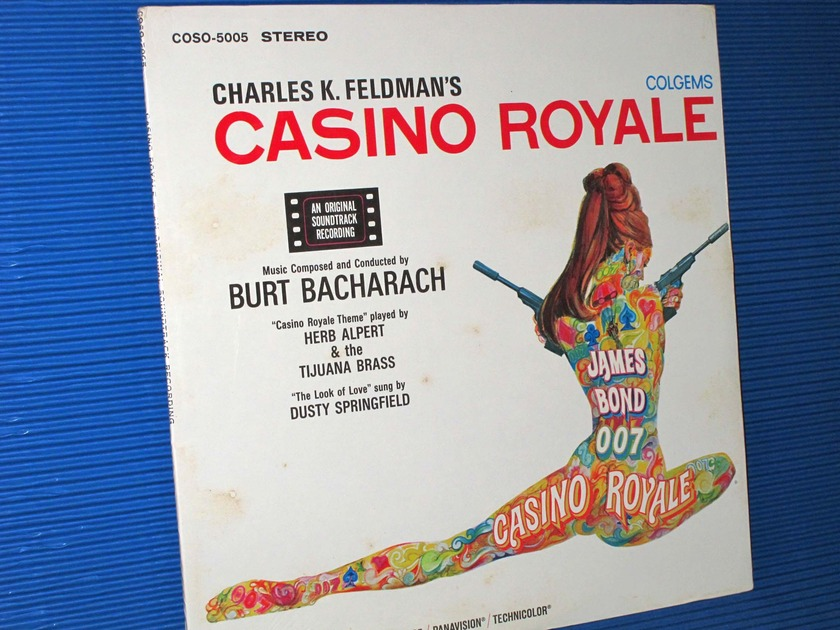 """CASINO ROYALE""   - Colgems coso-5005 1967 SEALED!  -  TAS 10 best Popular records"