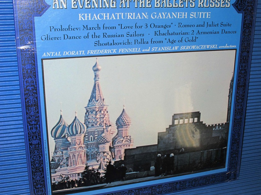 "KHACHATURIAN / PROKOFIEV / GLIERE / Dorati etc  - ""An Evening At The Ballets Russes"" -  Mercury Wing 1968 SEALED"