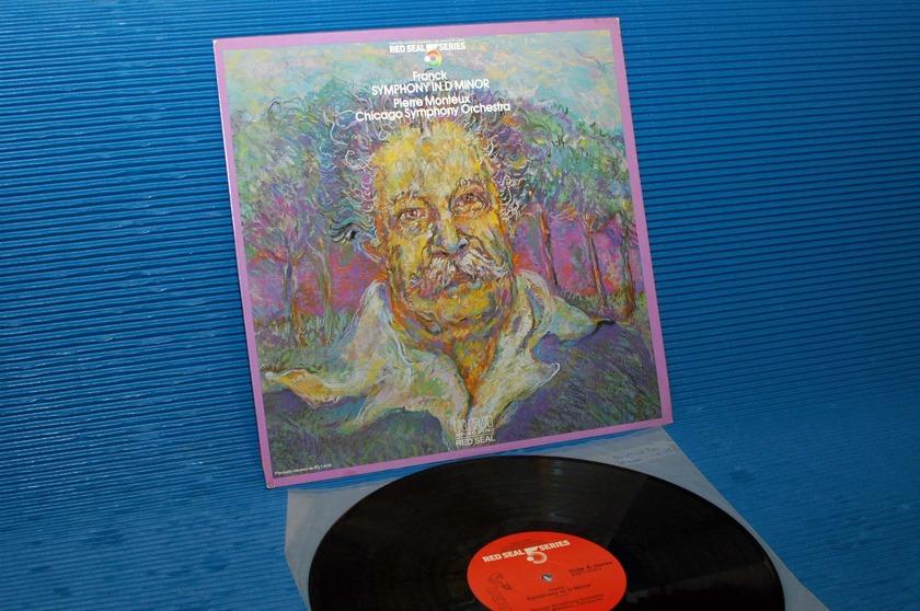 "FRANCK / Monteux  - ""Symphony in D Minor"" -  RCA .5 Series 1981 Audiophile"