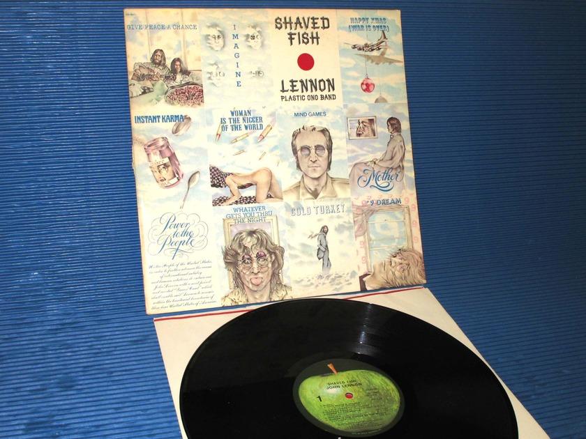 """JOHN LENNON  - """"Shaved Fish"""" - Apple 1975 original"""