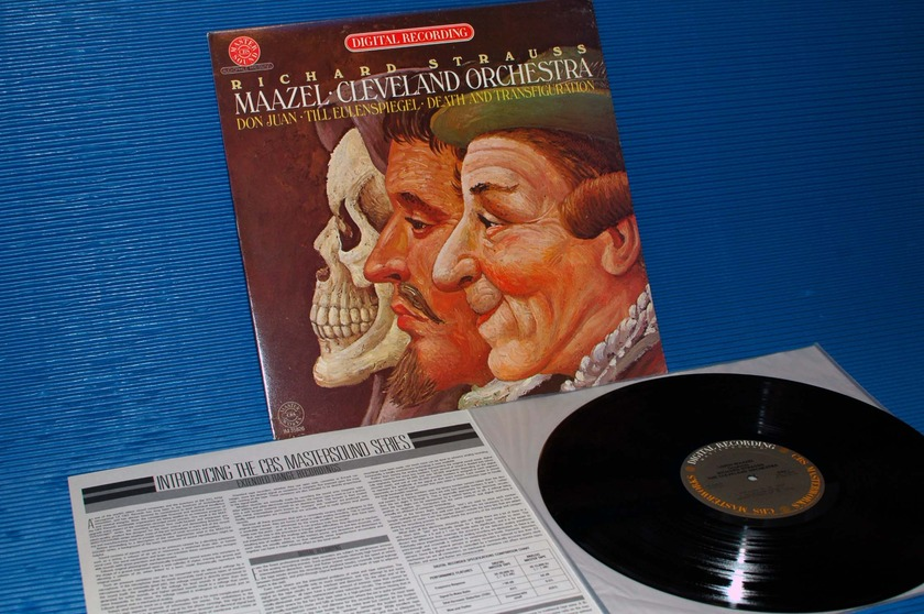 "STRAUSS / Maazel  - ""Don Juan / Til Eulenspiegel"" CBS Masterworks audiophile 1980"