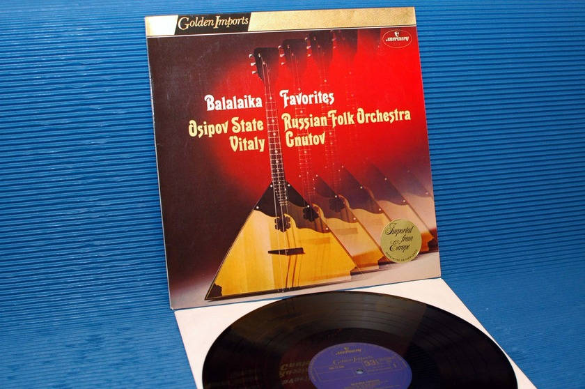 "OSIPOV STATE RUSSIAN ORCHESTRA   - ""Balalaika Favorites"" -  Mercury Golden Imports 1975"
