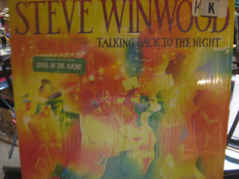 Steve Winwood - TALKING BACK TO THE THE NIGHT SHRINK STILL ON COVER