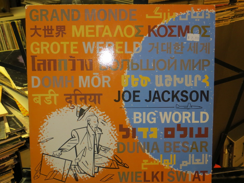 JOE JACKSON - BIG WORLD 1.5 SIDES