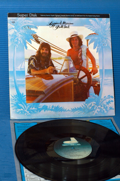 "LOGGINS & MESSINA  - ""Full Sail"" -  Direct Disk Labs 1981"