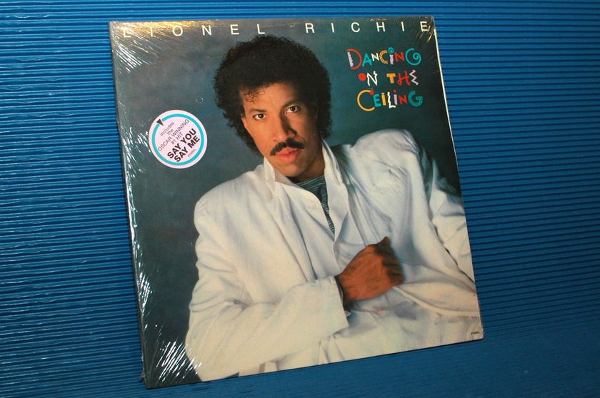 "LIONEL RICHIE  - ""Dancing On the Ceiling"" -  Motown 1985 SEALED"