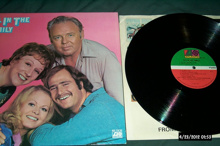 Soundtrack - All In The Family TV Series LP NM