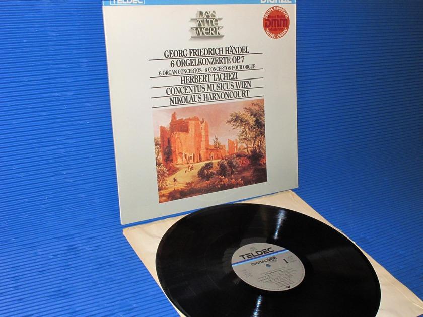 "HANDEL / Tachezi   - ""6 Organ Concertos"" - Teldec DMM German import"