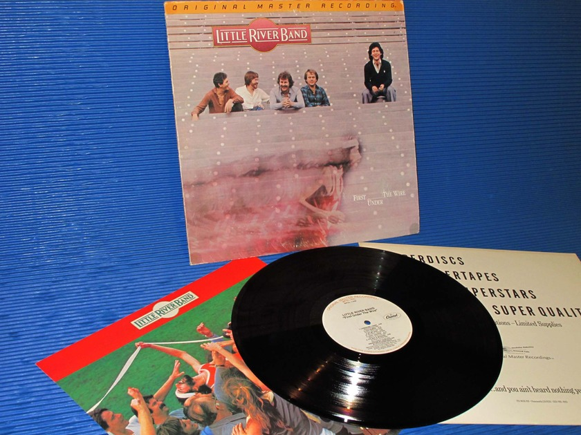 "LITTLE RIVER BAND  - ""First Under the Wire"" -  Mobile Fidelity / MFSL 1980"