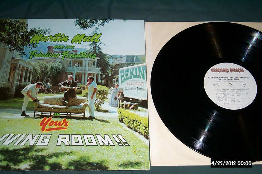 Martin Mull - In Your Living Room LP NM