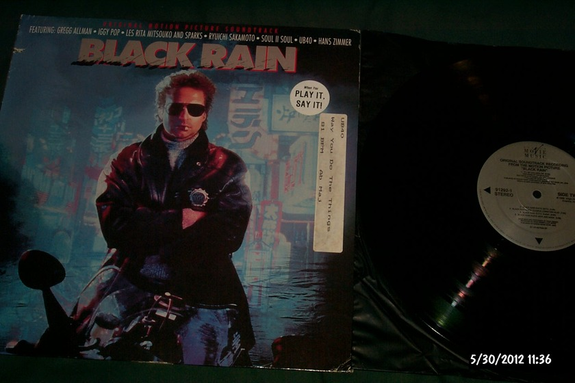 Soundtrack - Black Rain LP NM