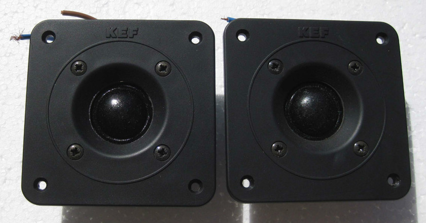KEF T33, 103,105, 107 series.  Repair service for dried out ferrofluid.