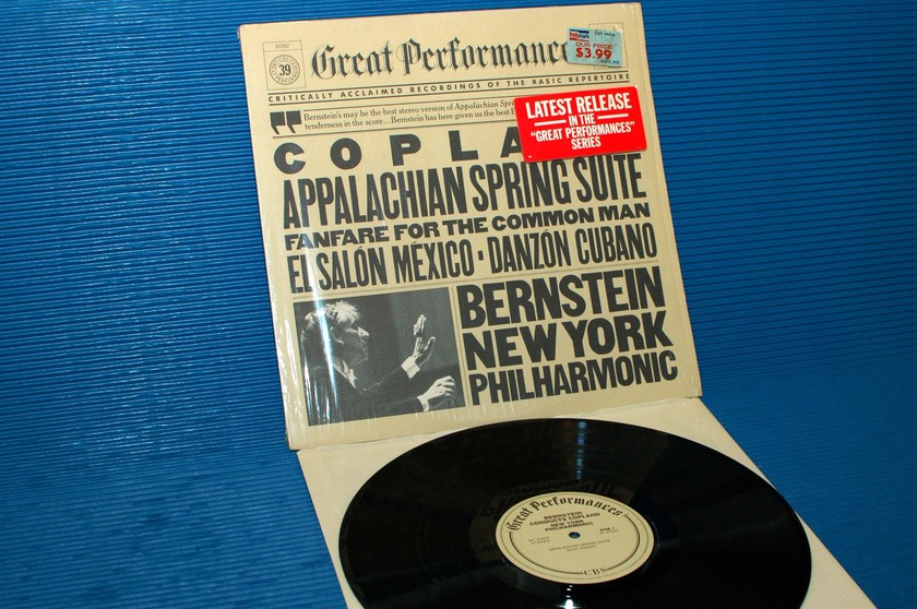 "COPLAND / Bernstein  - ""Appalachian Spring Suite"" -  CBS 1982"