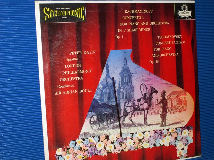 """RACHMANINOFF / Katin / Boult   - """"Concerto 1 for Piano and Orchestra""""  -  London 1960's SEALED"""
