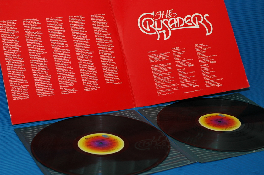 "THE CRUSADERS  - ""The Best of"" - Blue Thumb  1976  2 lp's"