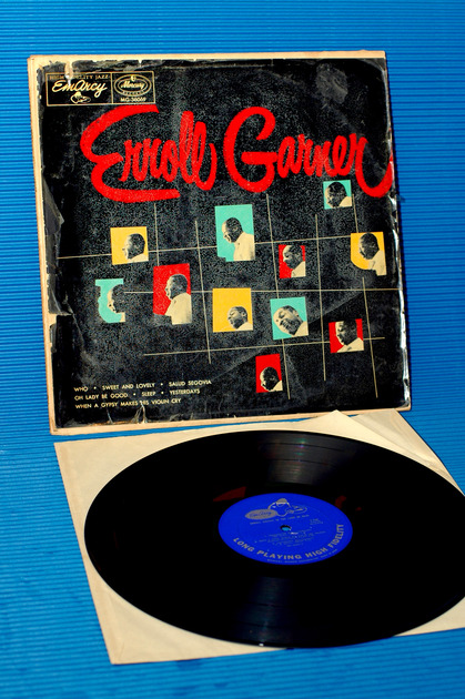 "ERROLL GARNER  - ""Erroll"" - EMARCY - 1956 early pressing"