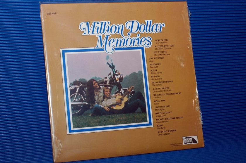 "VARIOUS OLDIES   - ""Million Dollar Memories"" -  Laurie 1985 Sealed"