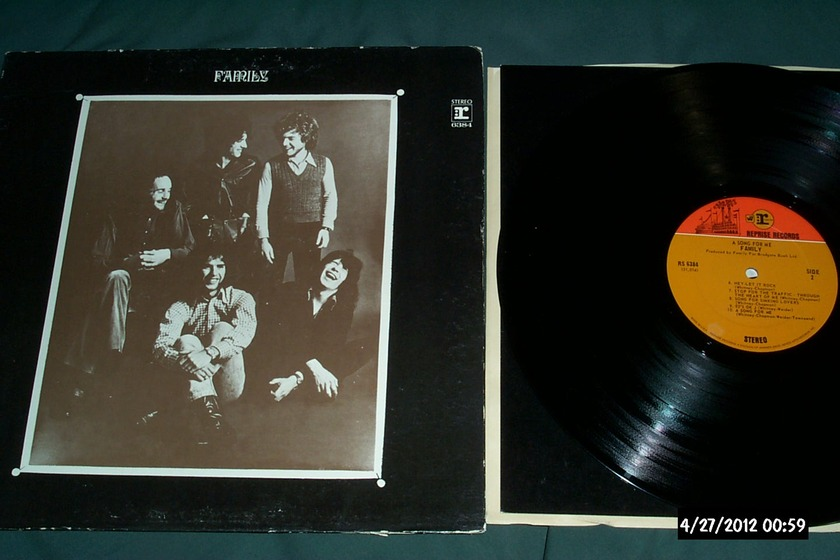Family - A Song For Me LP NM