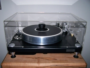 Turntable Dust Covers for  Vpi Traveler -Vpi Scout & Scoutmaster plinth & table top models by Stereo Squares
