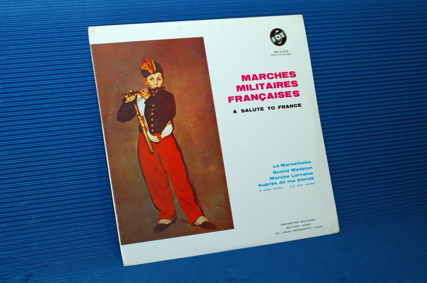 MARCHES MILITAIRES FRANCIASES  - Orchestre Militaire -  Vox SEALED!