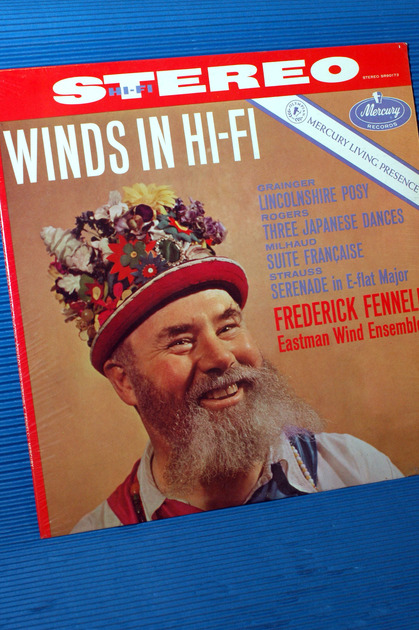 "VARIOUS / Fennell  - ""Winds In Hi-Fi"" - Mercury Living Presence 196? Sealed stereo TAS"