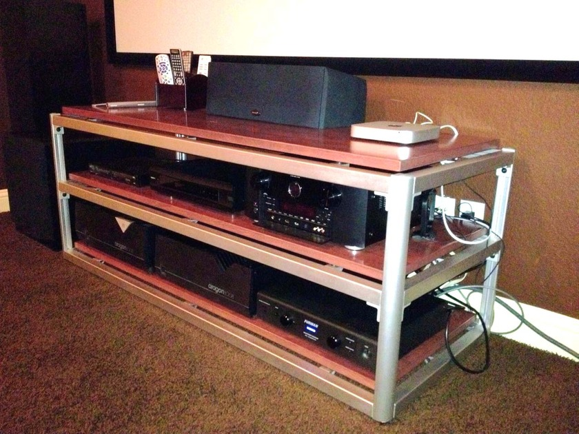 Steve Blinn Designs 3 shelf Super-Wide  Audio Rack, superbly built audiophile reference