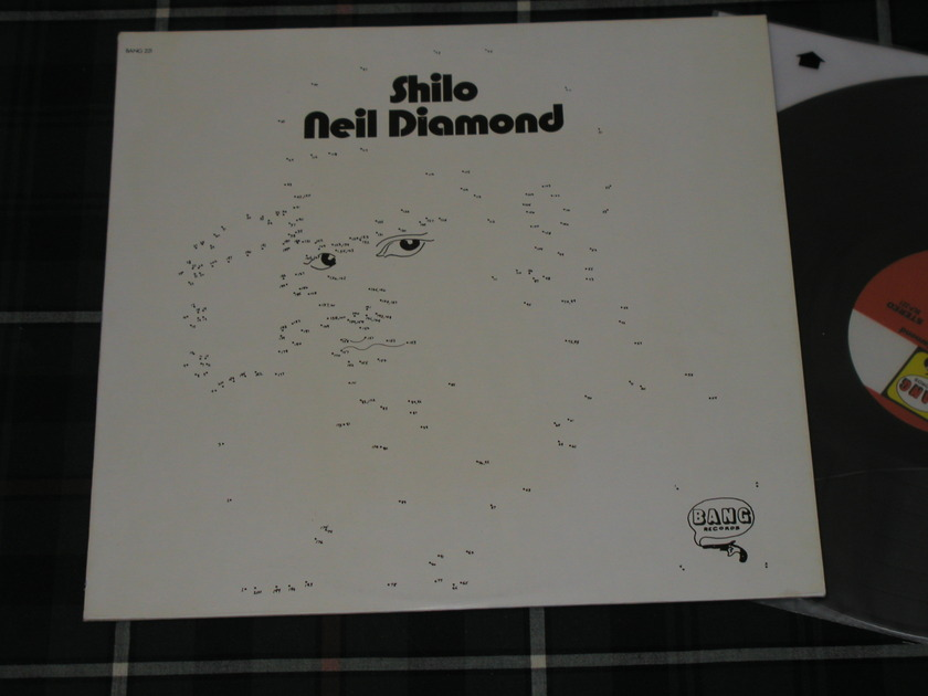 Neil Diamond - Shilo (Grtst. Hits) Un-drawn cover on Bang.BLP 221