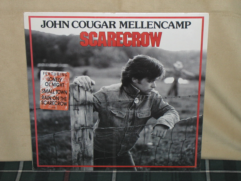 John Cougar Mellencamp - Scarecrow w/KOOL sticker Still SEALED/NEW from 1985