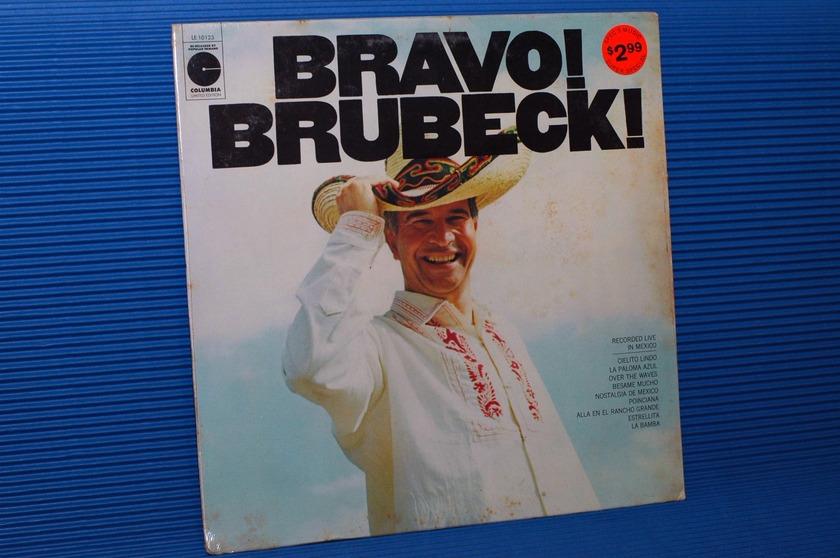 "DAVE BRUBECK QUARTET  - ""Bravo Brubeck"" - Columbia 1980's re-issue SEALED"