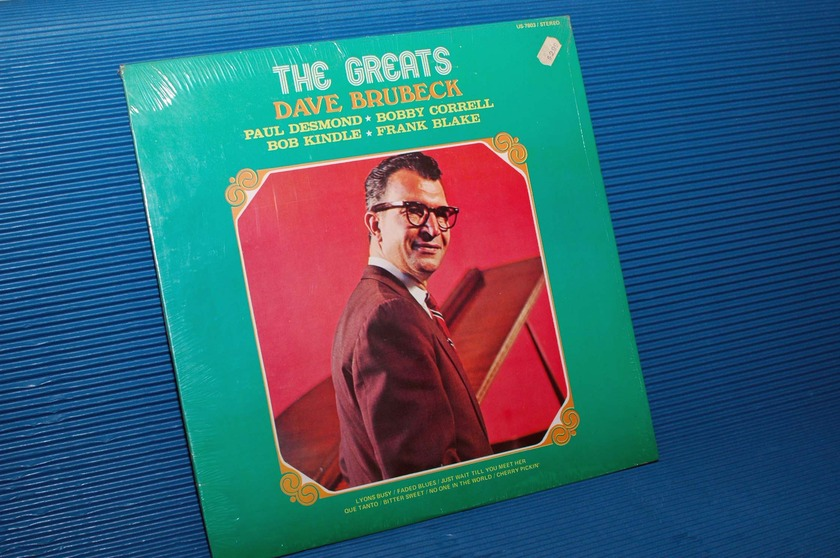 "BRUBECK / DESMOND / CORRELL etc.   - ""The Greats"" -  United 196? Sealed!"