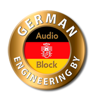 AUDIOBLOCK GERMANY VR-100 RECEIVER INTEGRATED AWARD WINNING!