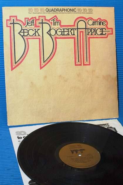"BECK, BOGART & APPICE   - ""Same Title"" - CBS Quadrophonic 1973 early pressing"